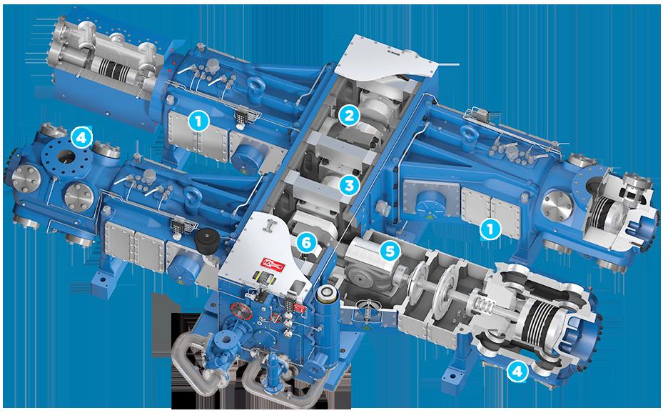 ariel natural gas compressors and their applications rh ironline com Ajax Engine Valve Ajax Engine