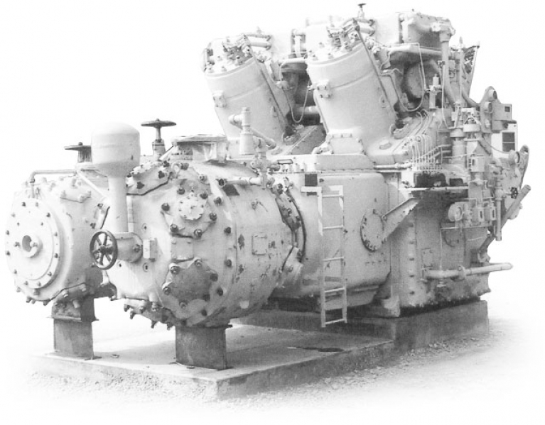 Gas Compressors Manufactured by Cooper Bessemer
