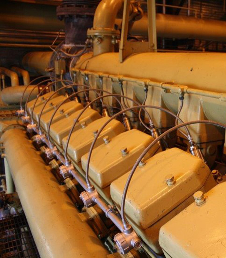 engine and natural gas compressors