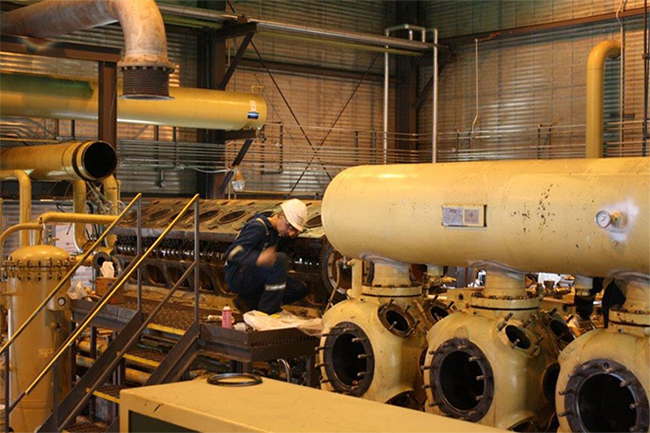 natural gas compression canada
