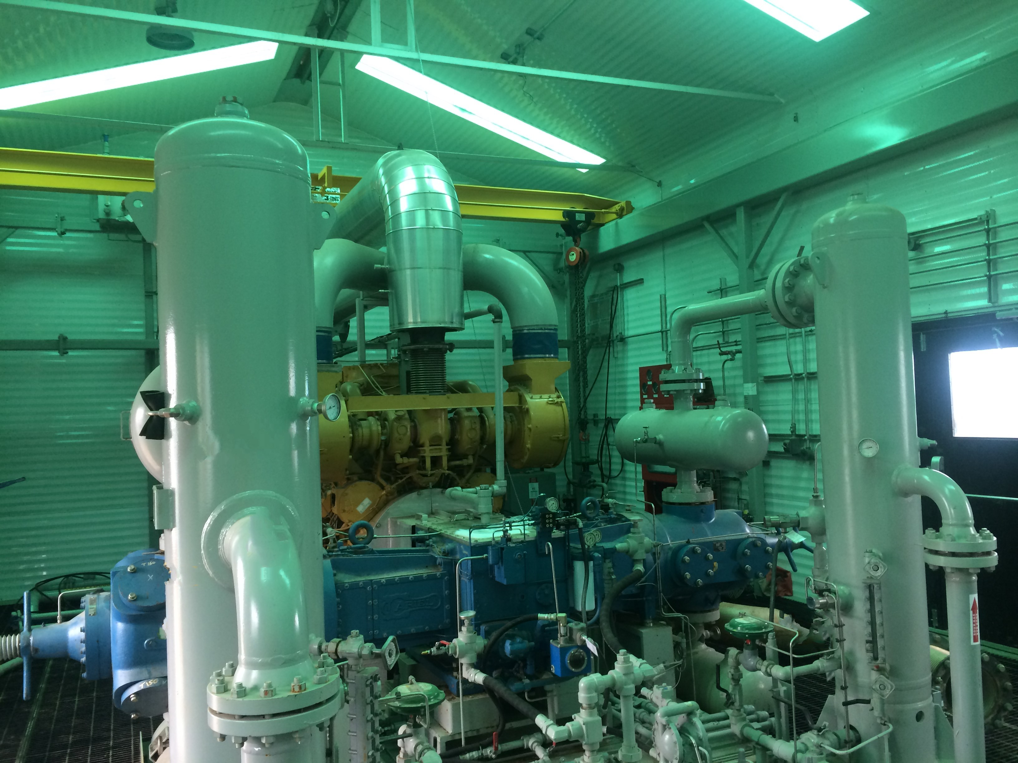 gas compression package